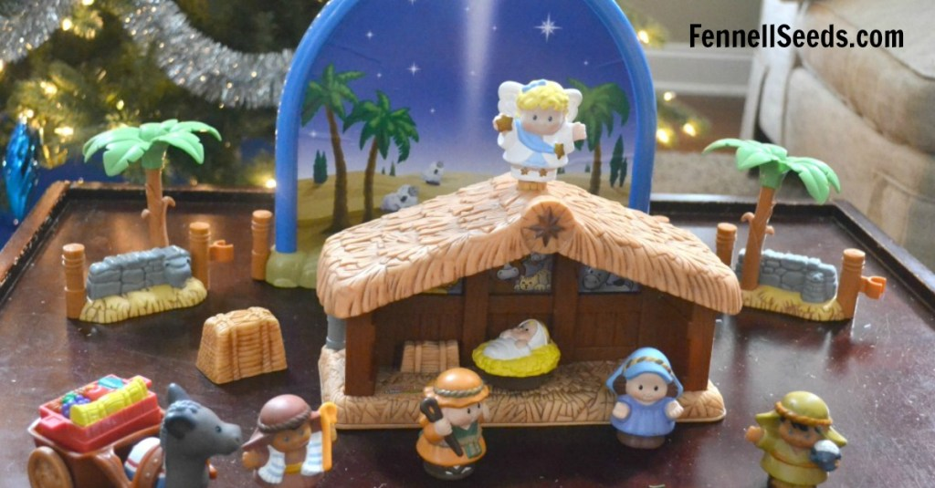 I love having some kid friendly nativity sets and advent toys around the house at Christmas. These are played with the most every year that I pull them out. Here are some favorite Advent toys that kids love.