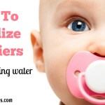 How To Sterilize Pacifiers Without Boiling Water