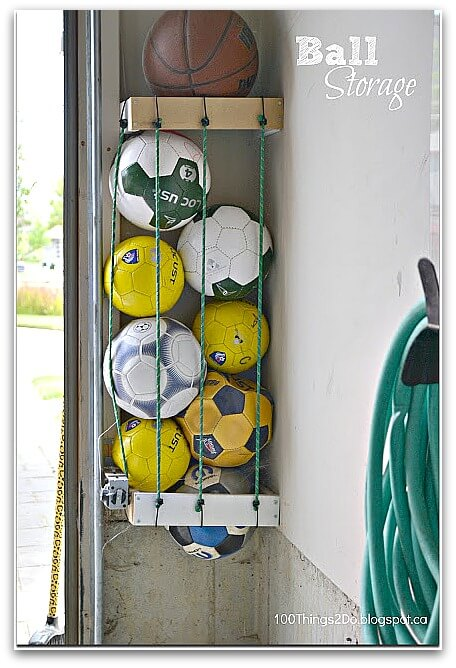 6 Amazing Sports Equipment Storage Ideas That Will Blow