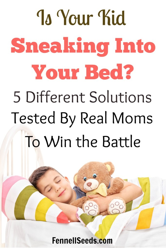 sneaking into bed | kids sleeping in parents bed | kids sleeping with parents | stay in their own bed | sleeping in own bed | sleep habits