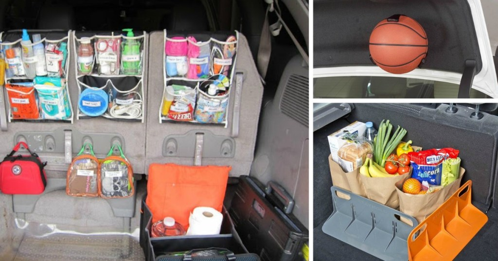 How to Organize Your Car Trunk   Organize Car Trunk   Trunk Organize   Organize Your Trunk   Trunk Organizer