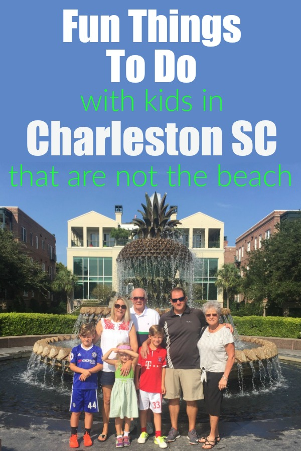 Fun Things To Do In Charleston SC With Kids that does not include the beach | Things to Do With Kids In Charleston, SC | travel to Charleston SC