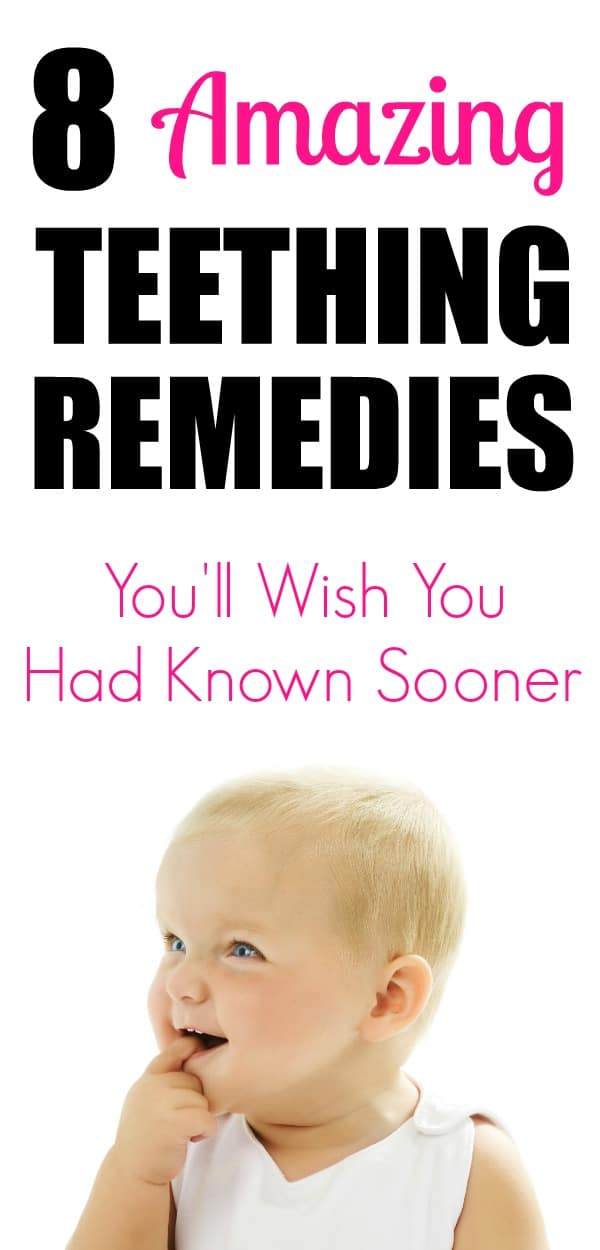 8 great teething remedies to help with the teething blues. #teething
