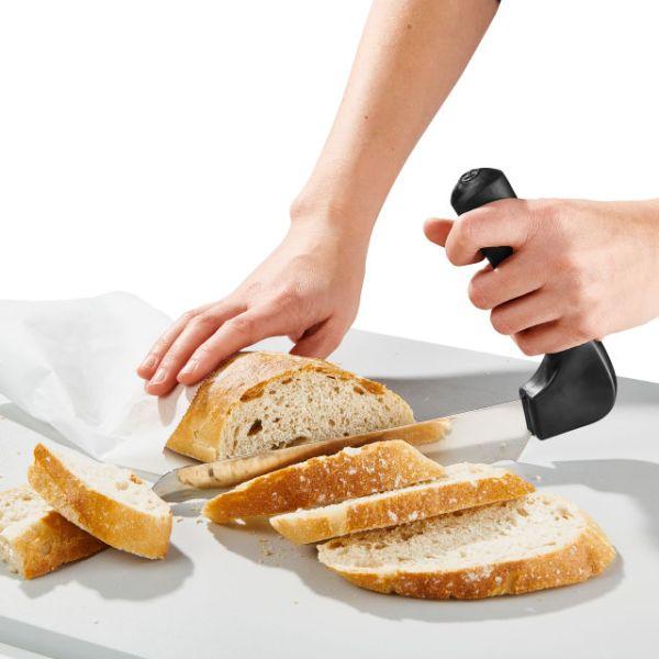 Leipäveitsi ergonominen
