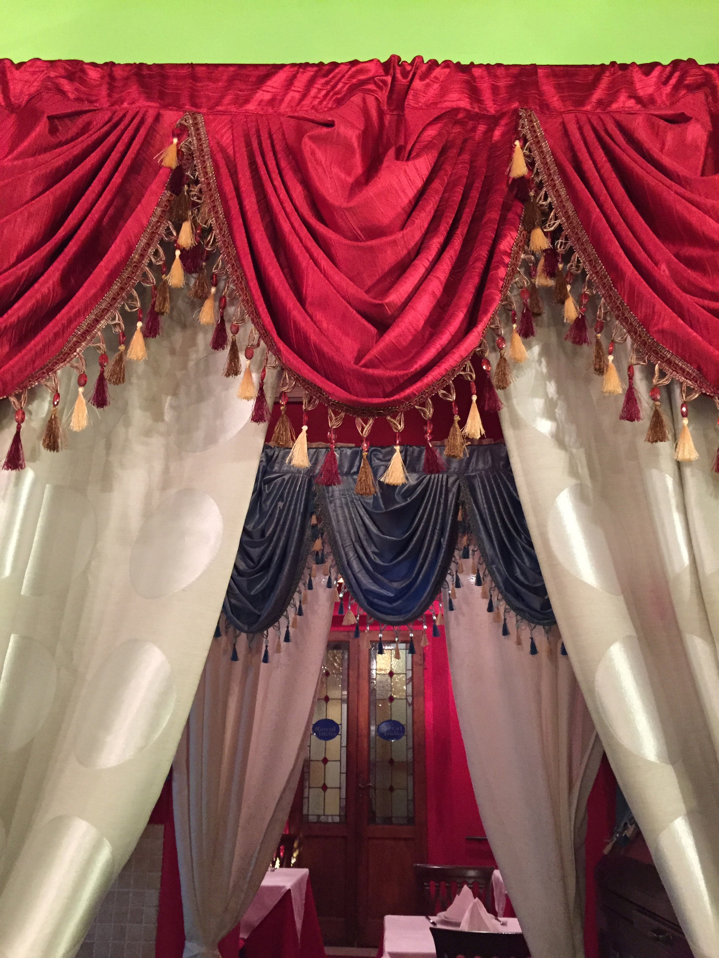 Indian curtains drapes - Bright Colors For Indian Celebrations Spicy Food And Digestive