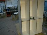 Construcción de taquillas con paneles fenólicos