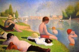 GEORGES_SEURAT-Bathers_at_Asnières-1884