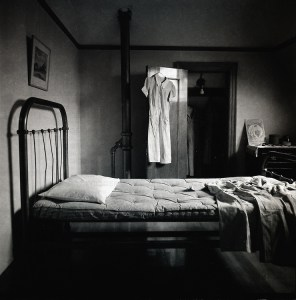 An old fashioned bedroom