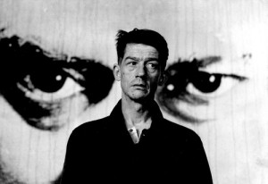 """John Hurt as Winston Smith. His own personal sadness helped him in the 1984 film, """"Nineteen Eighty Four"""", said to be the most topical film of the decade."""