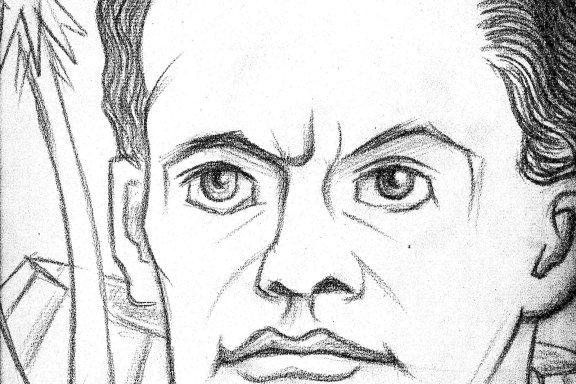 Portret Majakovskog, 1956.