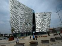 Le musée du Titanic à Belfast