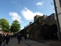 Les remparts de Derry dans le centre historique