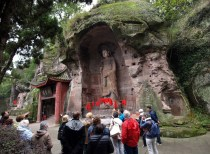 Grotte de l'éveil spirituel - Avalokitesvara et le vase de jade