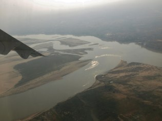 Après le décollage de Bagan