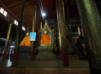 Lac Inlé, monastère Nga Phee Chaung
