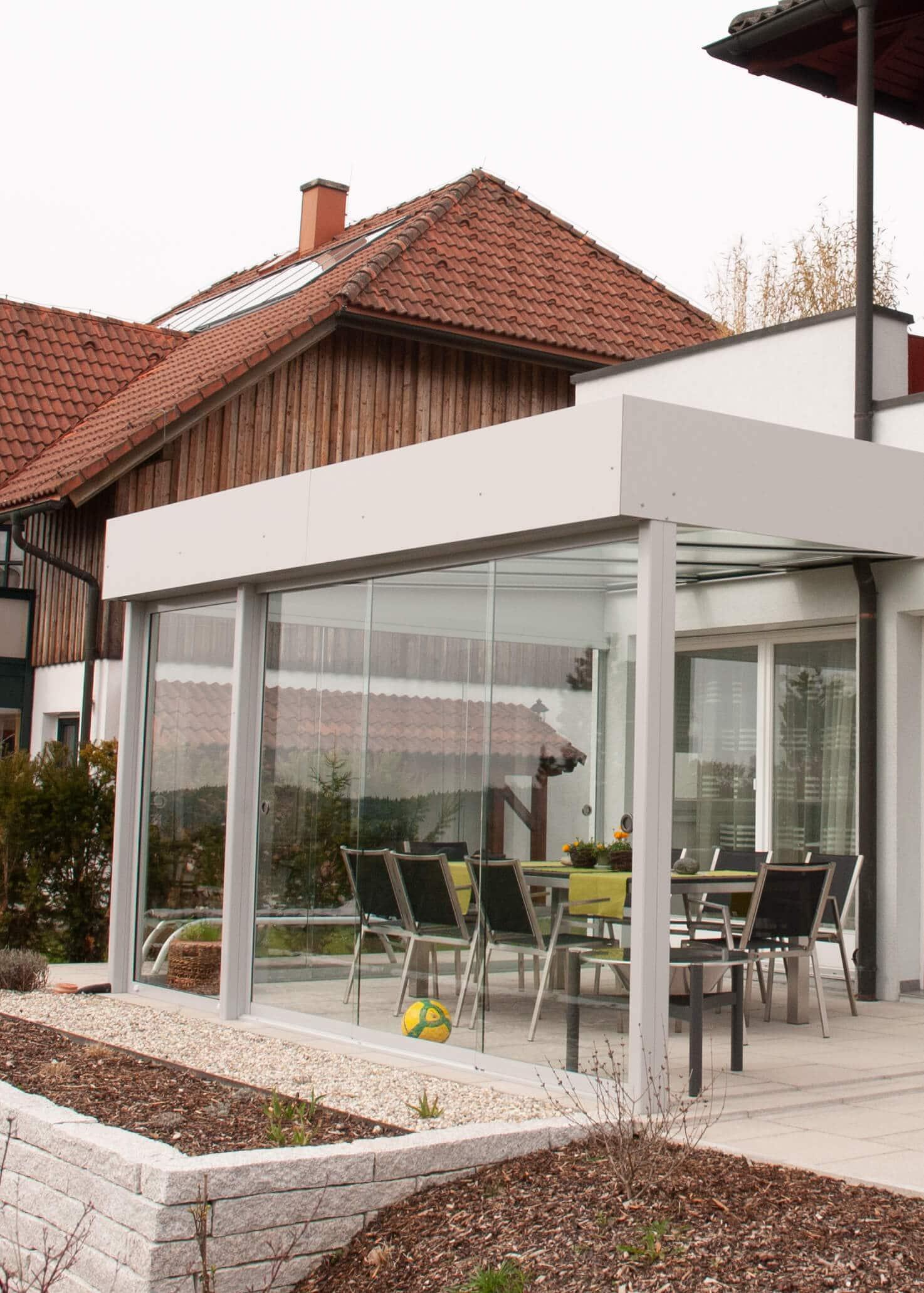 Uberdachung Terrasse Glas Kosten Terrassenuberdachung Struktur