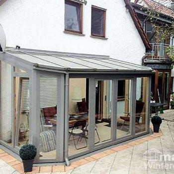 Wintergarten Holz-Alu Aluminium