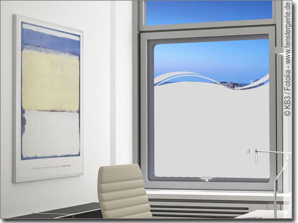Moderne Sichtschutzfolie  Fensterperlede