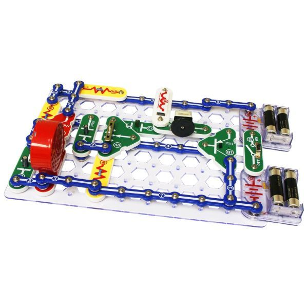 Details About Snap Circuits Extreme Sc750 Electronics Discovery Kit