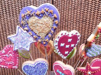 Detalles de galletas con formas