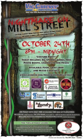 Nightmare on Mill St 2014