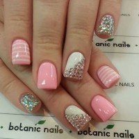 Latest 80 Simple Nail Art Designs for Short Nails: 2015