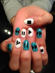 latest 80 simple nail art design