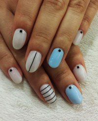 55 Simple Nail Art Designs for Short Nails: 2016