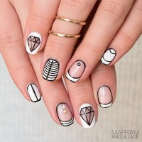 1000+ Bilder zu nails design for short nails by nded auf ...