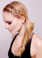 instant side ponytail hairstyles
