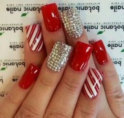 red nail art design and ideas