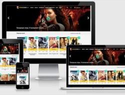 Kinocorn — адаптивный кино шаблон для dle 11.х