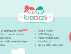 Kiddos — Hand Crafted Kids OpenCart Theme free