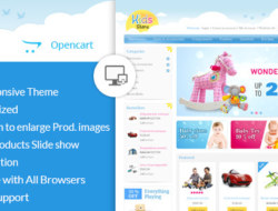Kids Store — OpenCart Responsive Theme Opencart_2.x