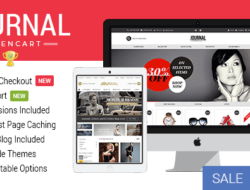 Journal — Advanced Opencart Theme v2.16.4