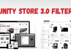 Unity Store 3.0 Filter — многомодульный адаптивный шаблон 3.0 и 2.3 + Генератор