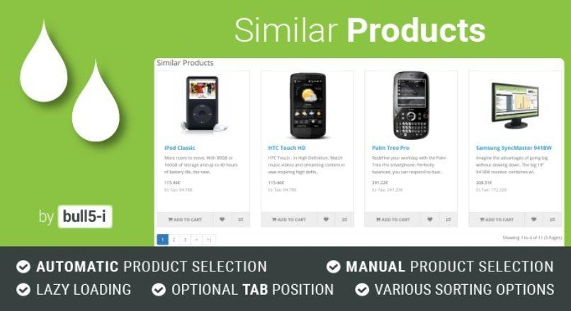 Similar Products v. 4.1.8 Opencart