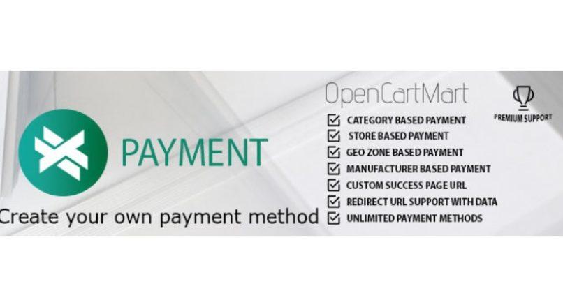 X-Payment (Custom Payment Method) OC 2.3