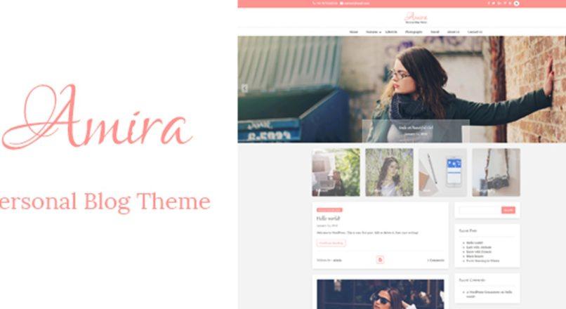 Amira — WordPress Personal Blog Theme