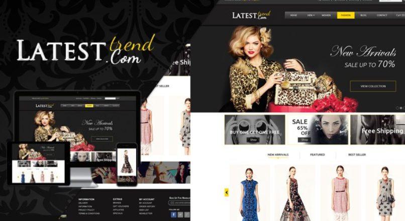 Opencart — Latest fashion Premium theme