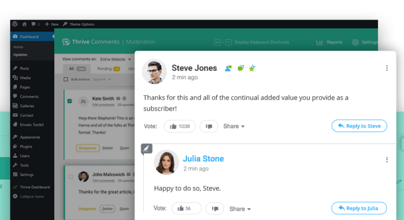 Thrive Themes Comments 1.2.0 NULLED