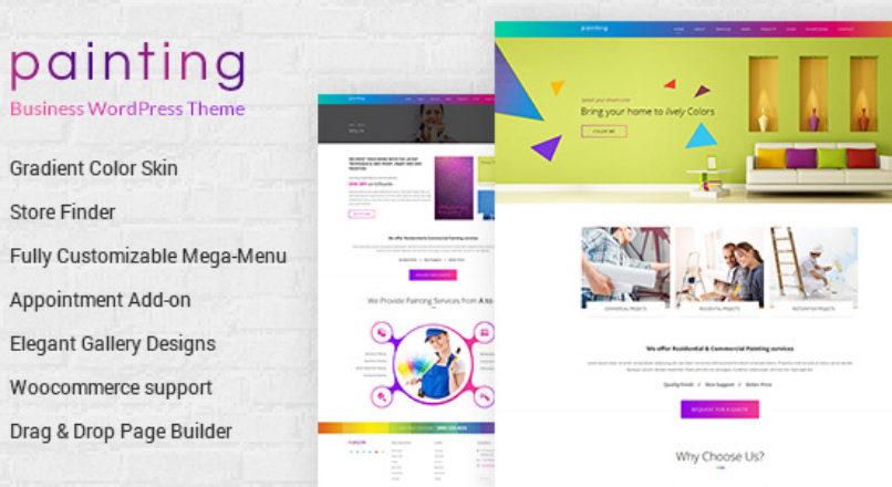 Paint — Painting Company WordPress Theme