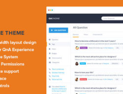 QAEngine — Question and Answer WordPress Theme RUS
