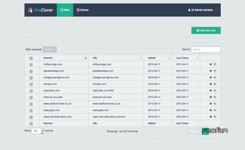 SiteCloner - Делайте клоны или копии любого сайта