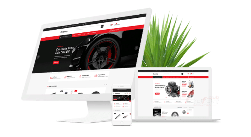 Sharma — Accessories Car OpenCart Theme (Included Color Swatches)