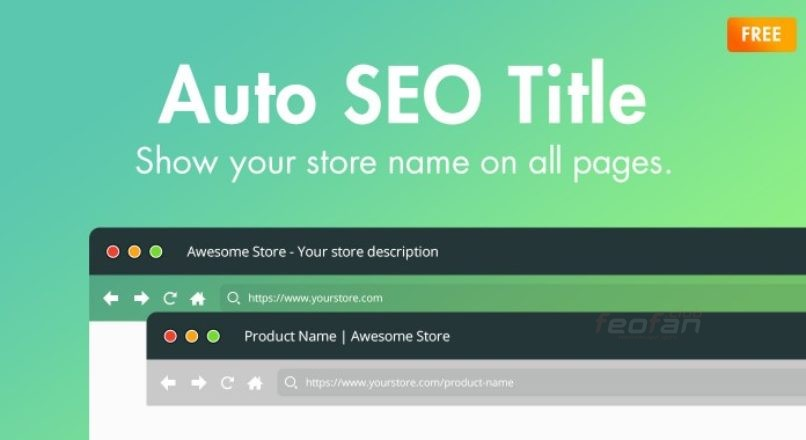 Auto SEO Title — Store name on all pages (OC3.0x)