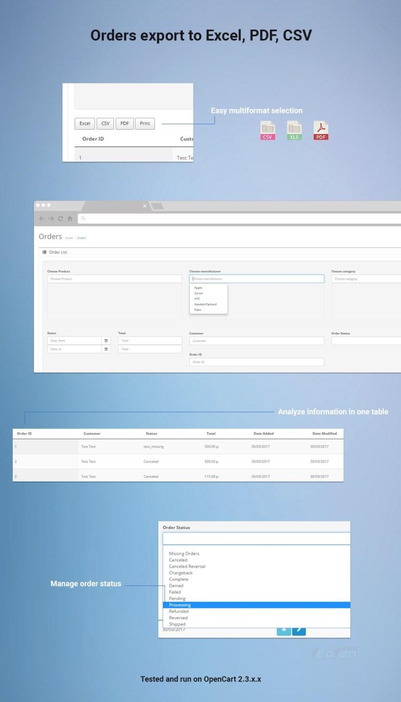 Простая выгрузка заказов в EXCEL, PDF, CSV, распечатать список заказов - 595fac7f73cb5 02 - Простая выгрузка заказов в EXCEL, PDF, CSV, распечатать список заказов