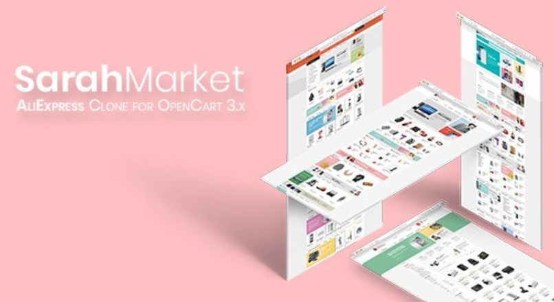 SarahMarket v1.0.1 — премиум шаблон для OpenCart 3