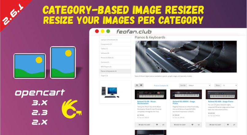 Category-Based Image Resizer — Resize your images per category