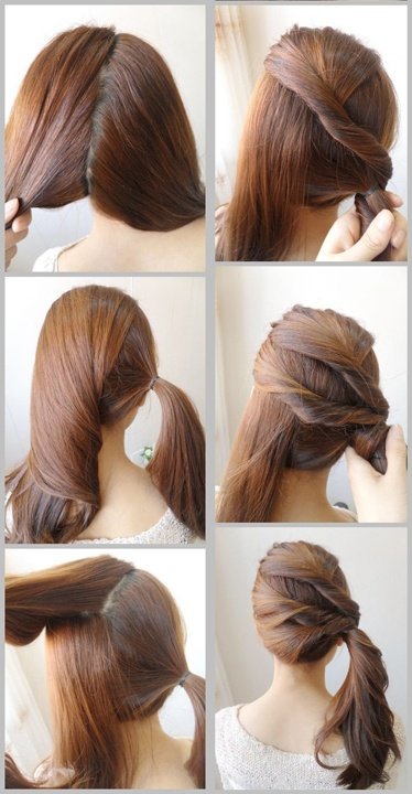 Latest Hairstyle Easy Ponytail Hairstyles Inspiring Photos Of